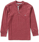 Nautica Big Boys 8-20 Long-Sleeve Henley Tee