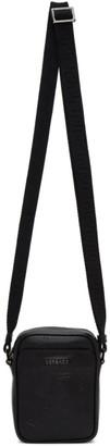 Versace Black Embossed Barocco Crossbody Bag