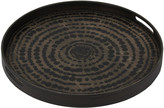 Notre Monde - Black Beads Driftwood Tray - Small