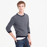 J.Crew Cotton-cashmere crewneck sweater in jacquard