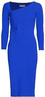 Chiara Boni Kyle Three-Quarter Sleeve Sheath Dress