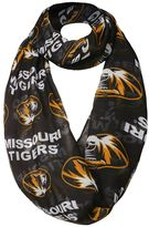 Women's Forever Collectibles Missouri Tigers Logo Infinity Scarf
