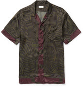 Dries Van Noten - Carlton Camp-collar Printed Satin Shirt