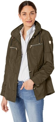 Vince Camuto Women's Military Anorak Jacket