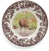 Spode Woodland Moose Salad Plates, Set of 4