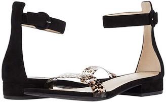 Pelle Moda Newport (Black/Black Leo) Women's Shoes
