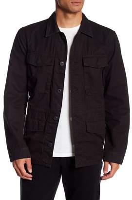 Save Khaki Fatigue Shirt Jacket