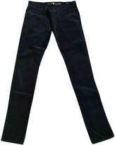 MiH Jeans Black Cotton - elasthane Jeans for Women