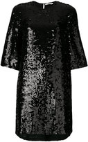 Amen short sequin shift dress
