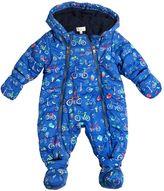 Paul Smith Printed Nylon & Fleece Baby Bunting