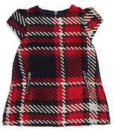 Tartine et Chocolat Girls' Textured Plaid Dress - Baby