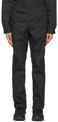 Nonnative Black Easy Officer Trousers