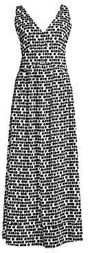 Beatrice. B Women's Printed V-Neck Maxi Dress