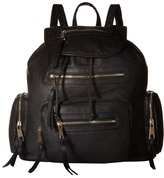 Gabriella Rocha Emme Washed Multi-Zipper Backpack
