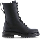 Thumbnail for your product : Sergio Rossi Lace-Up Combat Boots