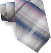 Van Heusen Shaded Plaid Tie