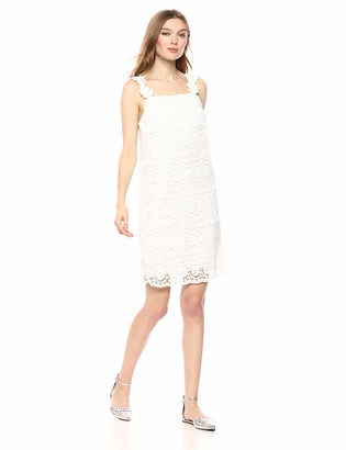 Laundry by Shelli Segal Women's Floral Detailed Lace Dress