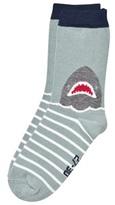 Melton Sock - Shark Blue Atoll