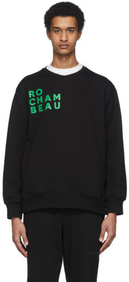 Rochambeau Black Core Sweatshirt