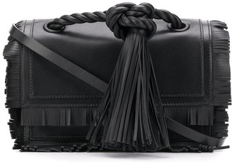 Valentino Fringed Tasseled Shoulder Bag