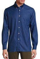 Ralph Lauren Regular-Fit Checked Cotton Twill Button-Down Shirt