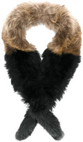 Twin-Set fur stole - women - Polyester/Racoon Fur - One Size