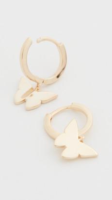 Jennifer Zeuner Jewelry Mariah Huggie Earrings