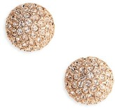 Oscar de la Renta Women's Dome Stud Earrings