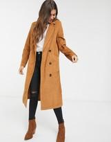 Asos Design DESIGN cord midaxi trench coat