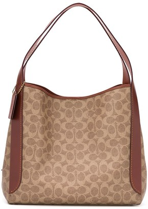 Coach signature canvas print Hadley Hobo bag