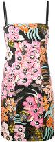 Just Cavalli floral print mini dress - women - Cotton/Sequin - 44