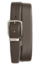 Ermenegildo Zegna Men's Sartoria Reversible Leather Belt