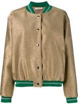 Tata-Naka Tata Naka - metallic bomber - women - Cotton/Polyester/Bemberg - 10