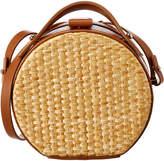 Nico Giani Tunilla Straw & Leather Shoulder Bag