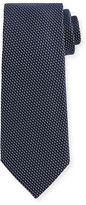 Tom Ford Textured Solid Silk Tie, Blue