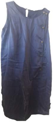 BA&SH Bash \N Navy Silk Jumpsuits
