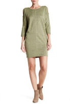 Bobeau Cocoon French Terry Dress