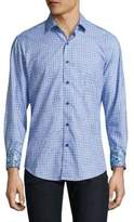 Robert Graham Utica Regular Fit Button-Down Shirt
