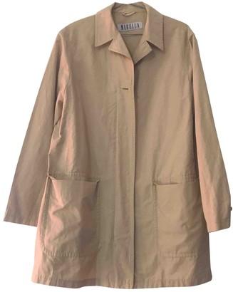 Marella Beige Cotton Coat for Women