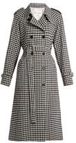 Sonia Rykiel Gingham wool trench coat