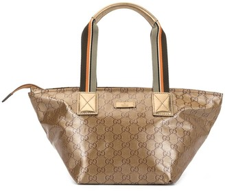 Gucci Pre Owned GG supreme logo hand bag
