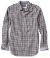 Banana Republic Camden-Fit Custom Wash Small Check Shirt