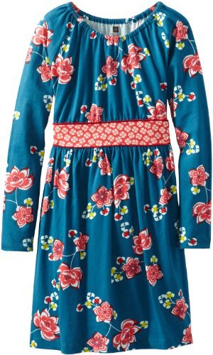 Tea Collection Girls 7-16 Long Sleeve Banded Dress