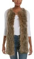 Ella Moss Faux Fur Vest.