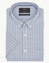 M&S Collection Pure Cotton Tailored Fit Oxford Shirt