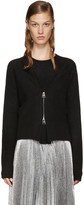 J.W.Anderson Black Zip-Front Sweater