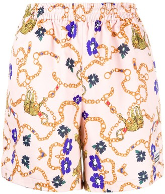 adidas Her Studio London baroque-print shorts