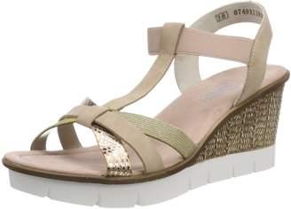 Rieker Women's 65590 Platform Sandals