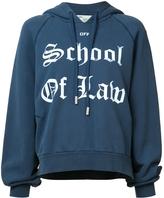 Off-White School of Law Hoodie