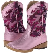 Roper Square Toe Girlie Camo (Toddler)